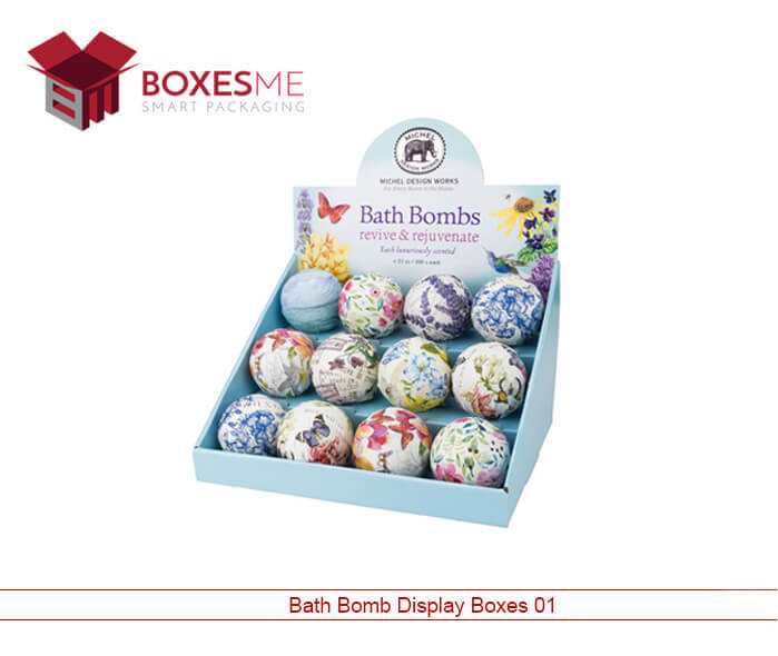 Bath Bomb Display Boxes