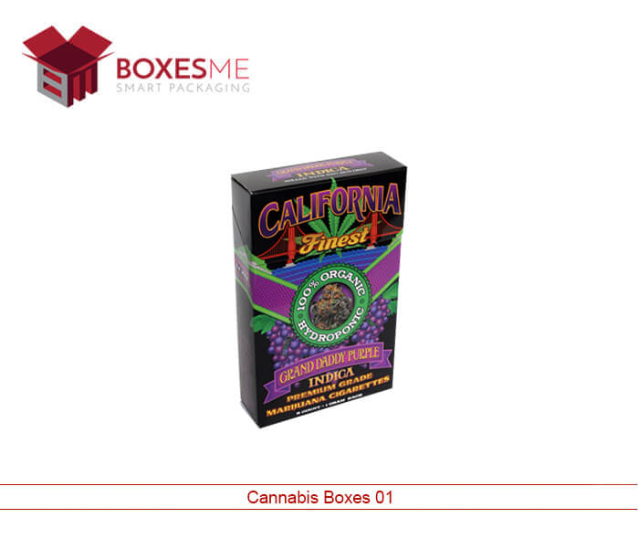 Custom Cannabis Boxes