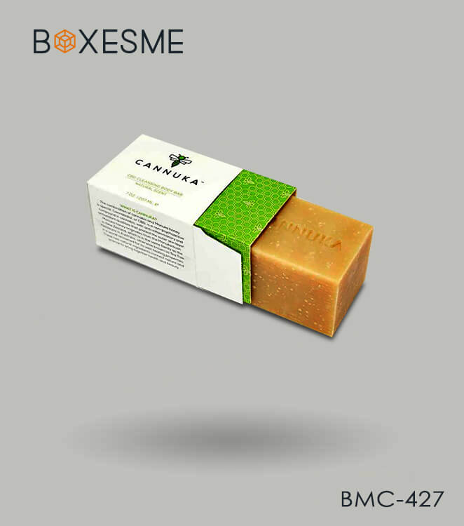 Cannabis Soap Box Packaging