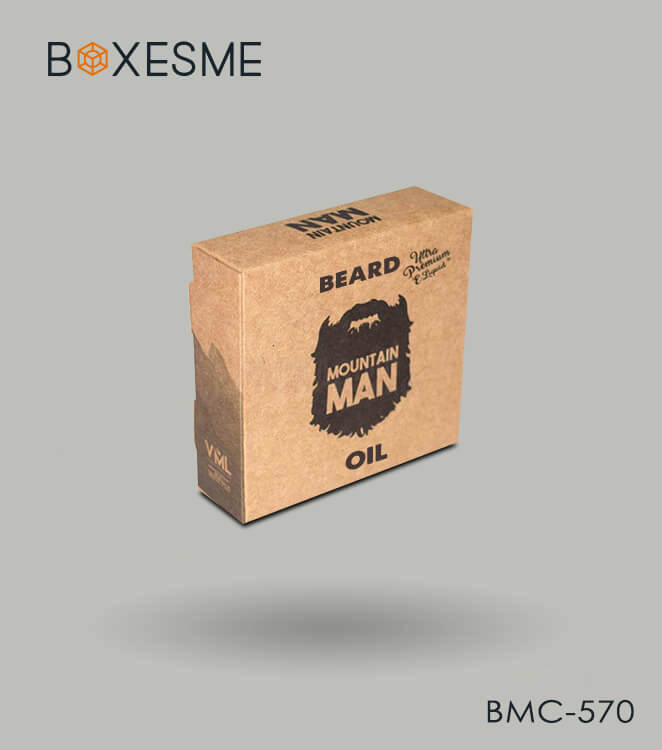 Custom Beard Oil Boxes
