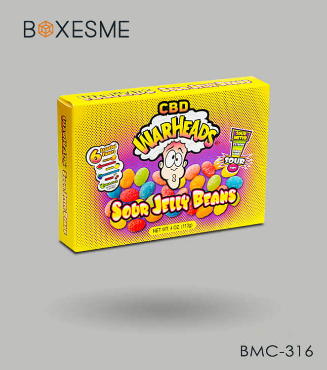 Custom CBD jelly Packaging Boxes Wholesale