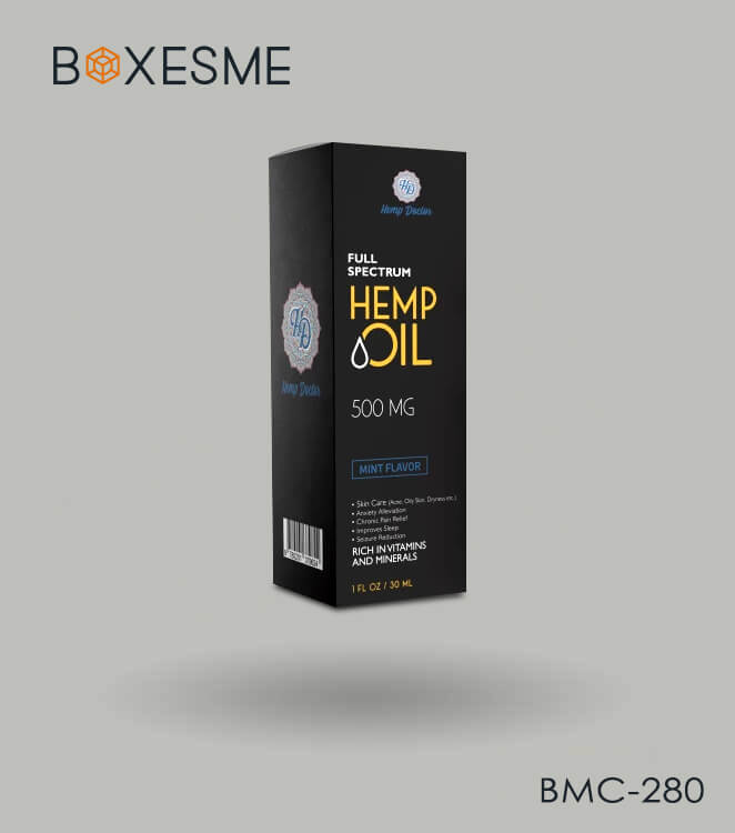 Custom Hemp Oil Packaging