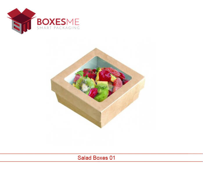 Salad Packaging Boxes with Window