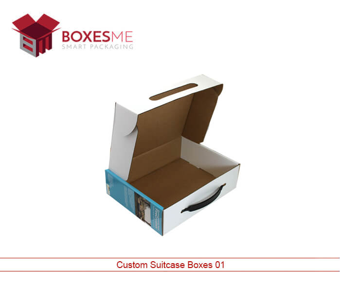 Custom Suitcase Boxes