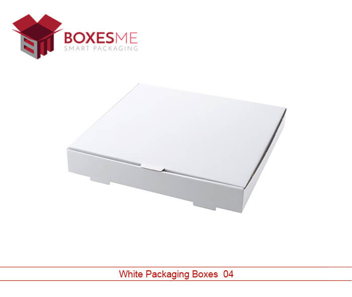 White Packaging Boxes