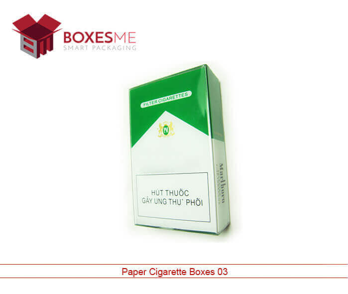 Paper Cigarette Boxes