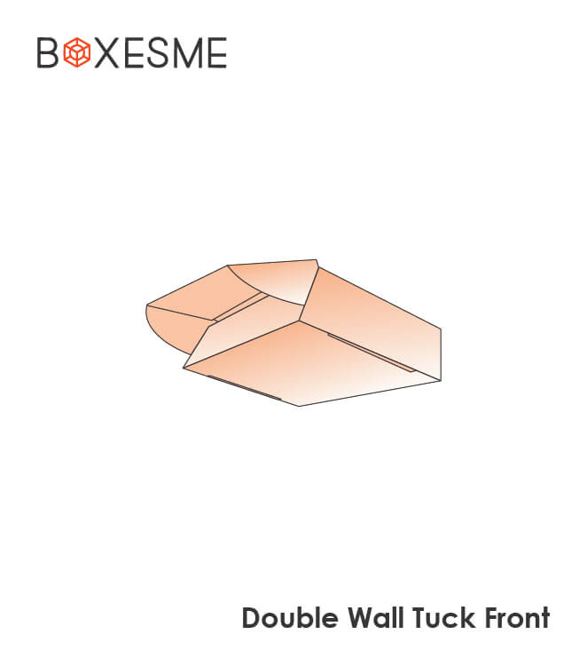 DOuble Wall Tuck Front Box