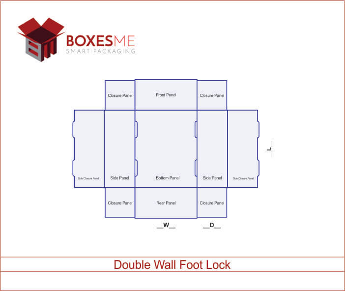 Double Wall Foot Lock 04