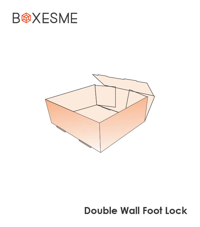 Double Wall Foot Lock Box