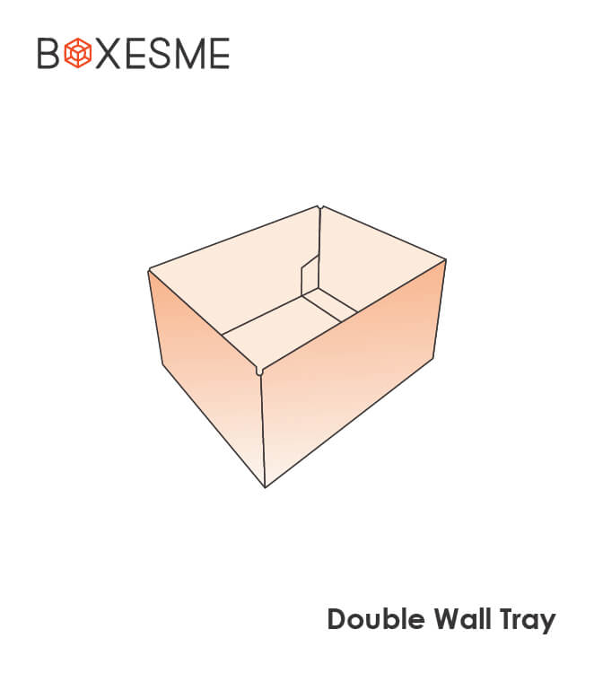 Double Wall Tray Box