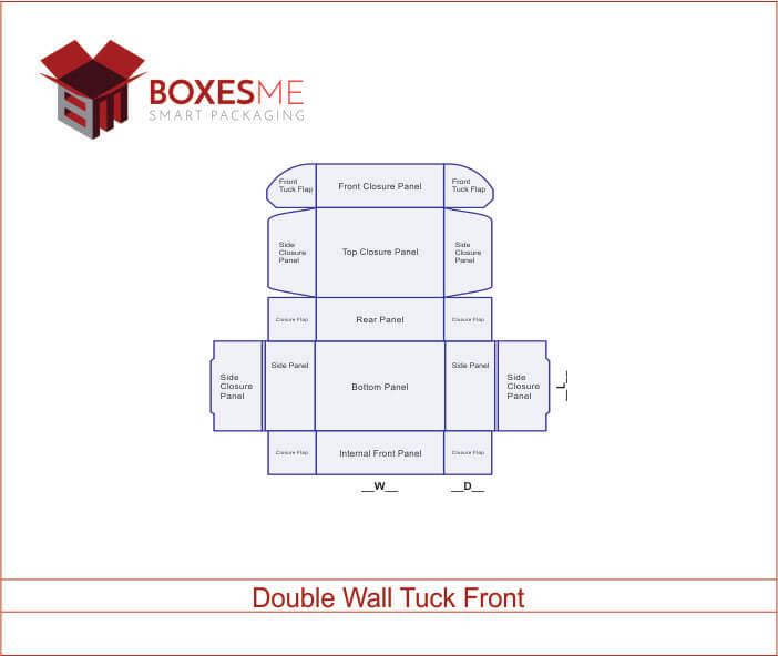 Double Wall Tuck Front 031