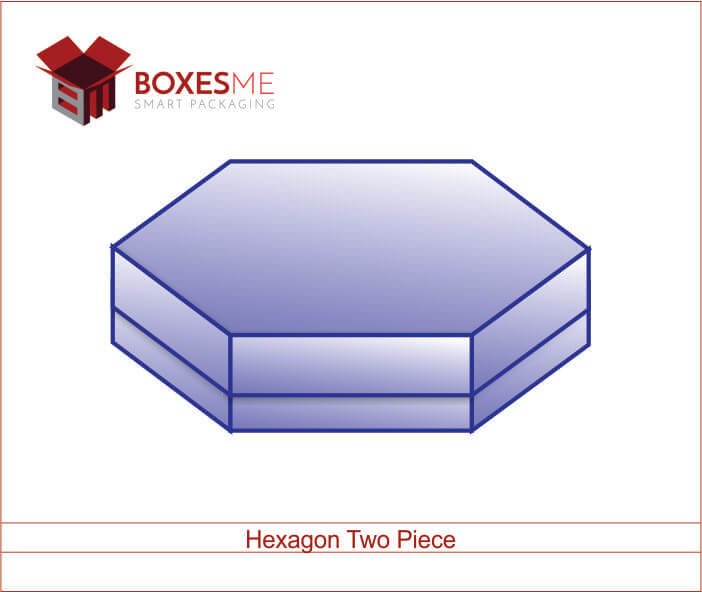 Hexagon Two Piece Boxes