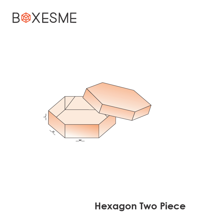 Hexagon Two Piece Box (2)