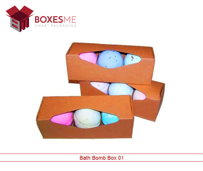 Custom Bath Bomb Boxes