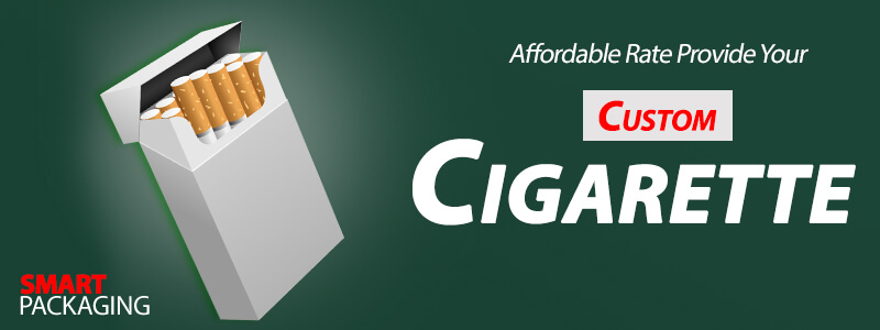 Custom printed Wholesale Cigarette packaging boxes