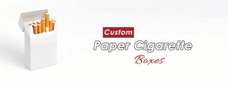 Custom printed Wholesale Cigarette packaging boxes