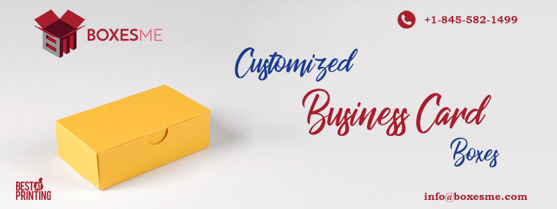 Custom Printed Business Card Boxes available in various styles