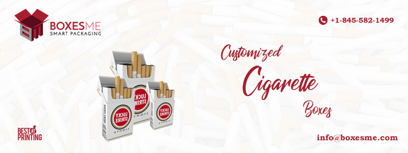Custom Printed Cigarette Packaging Boxes