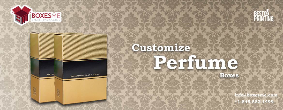 Custom Printed Perfume and Cologne Boxes Available in Unique Styles