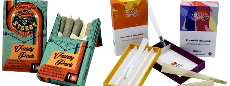 Do you want to make your Pre-Roll Joints Boxes Prominent