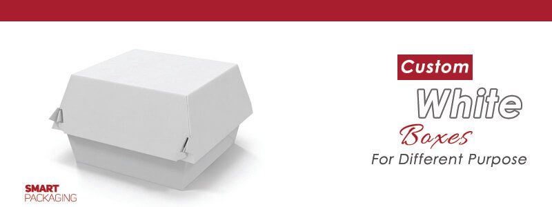 Custom Printed White Boxes Wholesale