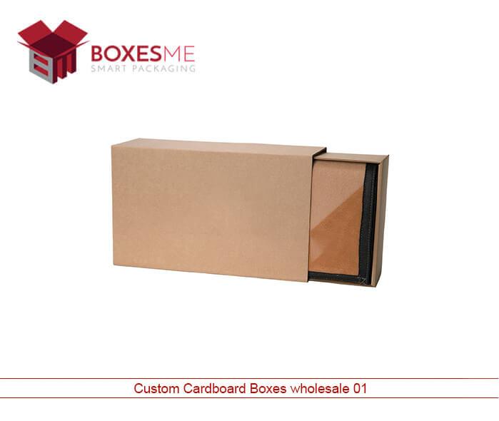 Custom Cardboard Boxes Wholesale