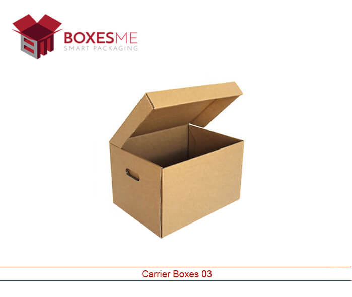 Promotional Carrier Boxes for Fundraising