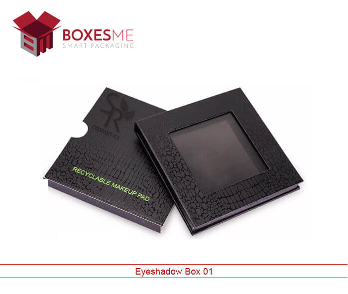 Custom Eye Shadow Boxes