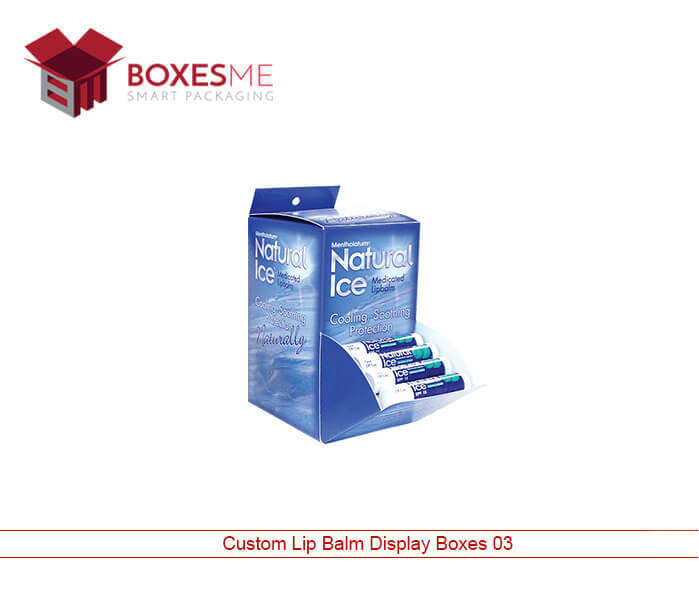 Custom Lip Balm Display Boxes