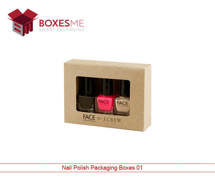 Nail Polish Packaging Boxes | Custom Printed Nail Polish Box