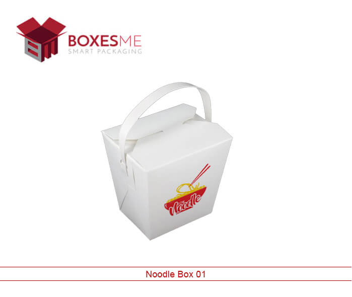 Custom Noodles Boxes