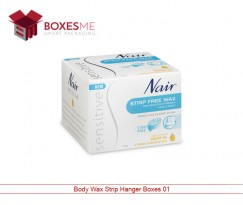 Body Wax Strip Hanger Boxes