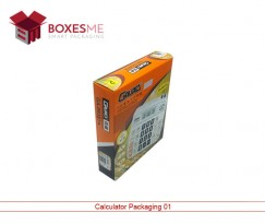 Custom Calculator Packaging Boxes