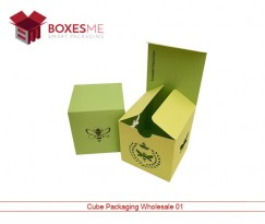 Cube Packaging Wholesale Boxes