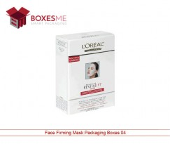Face Firming Mask Packaging Boxes