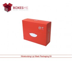 Moisturizing Lip Mask Packaging Boxes