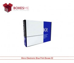 Micro Electronic Blue Print Box