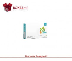 Pharma Gel Packaging Boxes