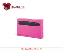Custom Hair Straightener Boxes