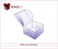Self-Lock Cake Box 01