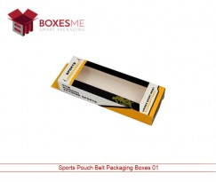 Sports Pouch Belt Packaging Boxes