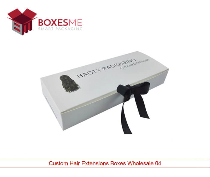 Custom Hair Extensions Box Packaging Wholesale US, Canada
